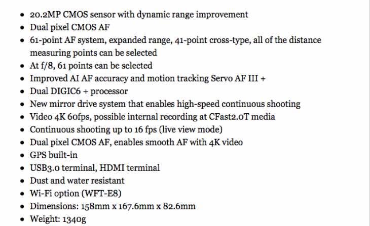 Canon EOS 1D X MK II release date