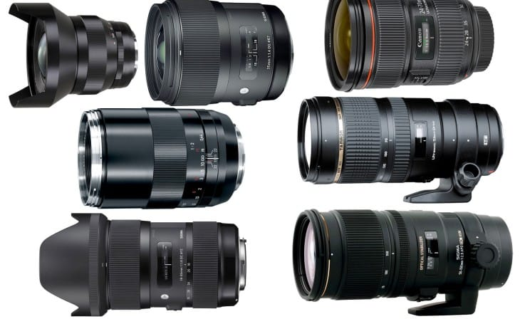 Canon EOS 70D compatible lenses are extensive