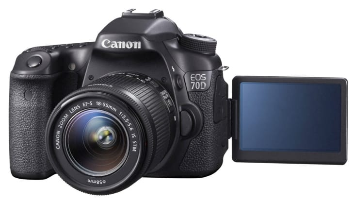 Canon EOS 70D can take a huge range of lenses