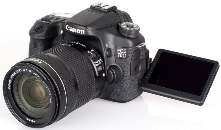 Canon EOS 70D mid-range dslr