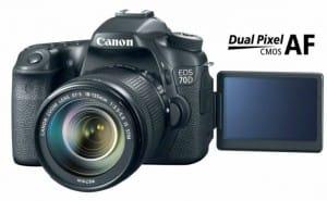 Canon EOS 70D vs. 7D key differences