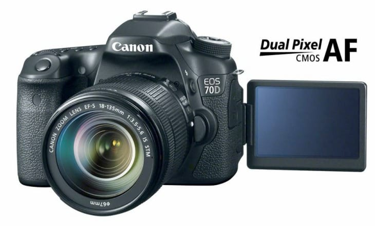 Canon EOS 70D vs. 7D key differences