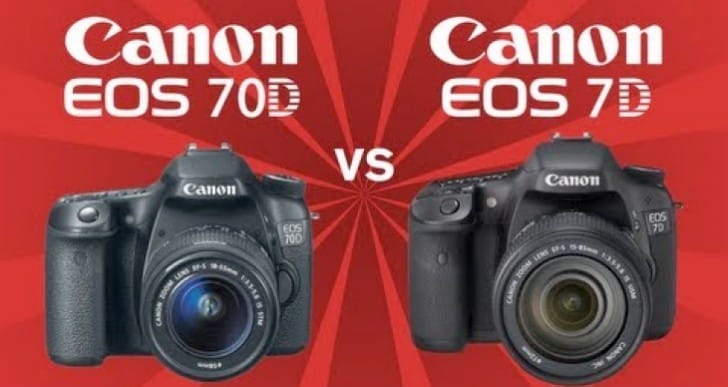 Canon EOS 70D vs. 7D review during sports test