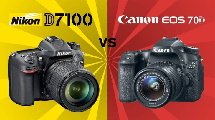 Canon EOS 70D sqaures up to Nikon D7100 in stills and video functionality tests