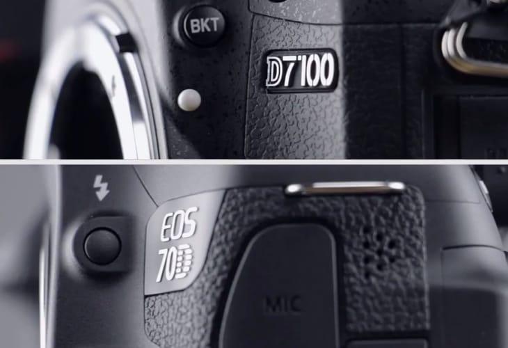 Canon EOS 70D vs. Nikon D7100