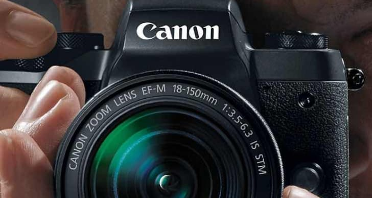 Canon EOS M5 compatible with EF-M lenses