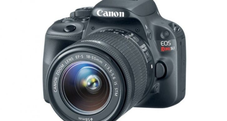 Canon EOS Rebel SL1 announcement while 70D MIA