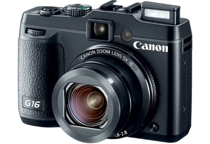 Canon G16 specs detailed before UK release