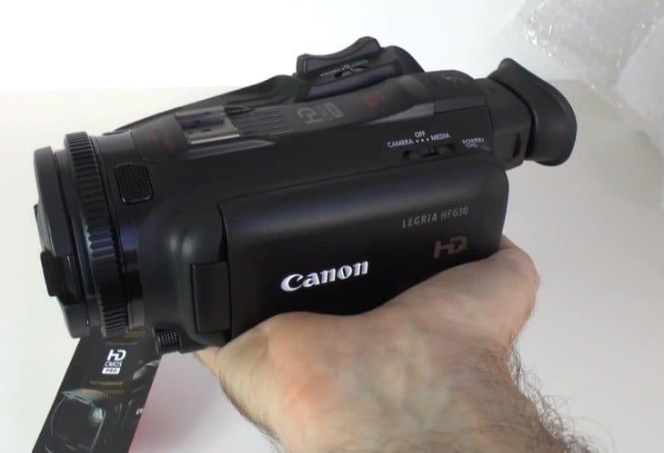 Canon Legria, Vixia HF G30 camcorder first look