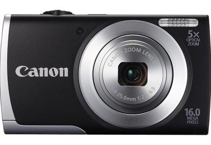 Canon PowerShot A2500 review of specs