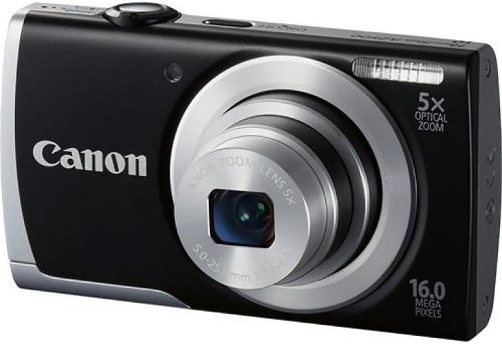 Canon PowerShot A2500 with 5x optical zoom