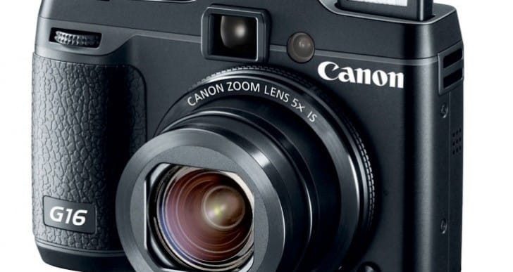 Canon PowerShot G16 preview