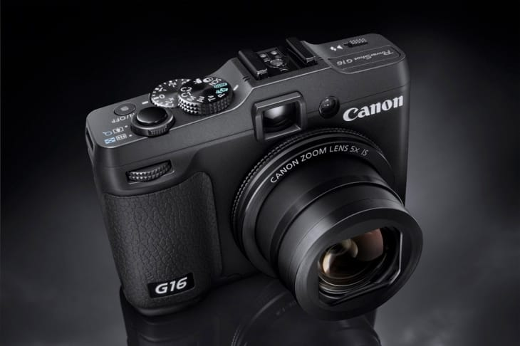 Canon PowerShot G16 focus is on its image quality