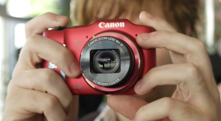 Canon PowerShot SX160 visual review