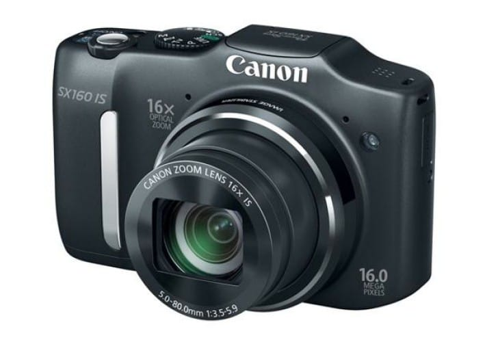 Canon PowerShot SX160 with new price and visual review