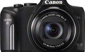 Canon PowerShot SX170 vs. Nikon D3200 review scores