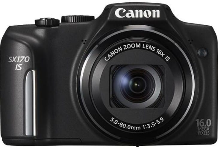 Canon PowerShot SX170 vs. Nikon D3200 review scores