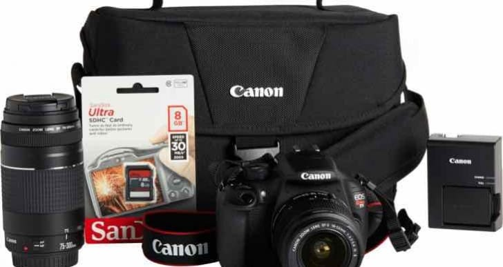 Canon T5 and Nikon D3300 in 2 lens bundle clash