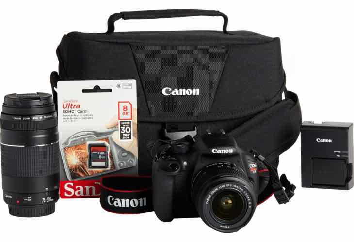 Canon T5 2 lens bundle