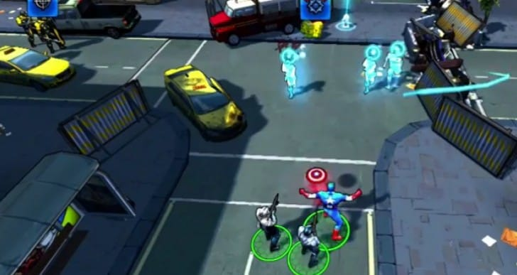Captain America 2 TWS app review for Android