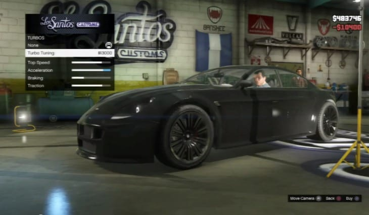 Best Auto Sales >> Car customization with the GTA V Exemplar – Product ...