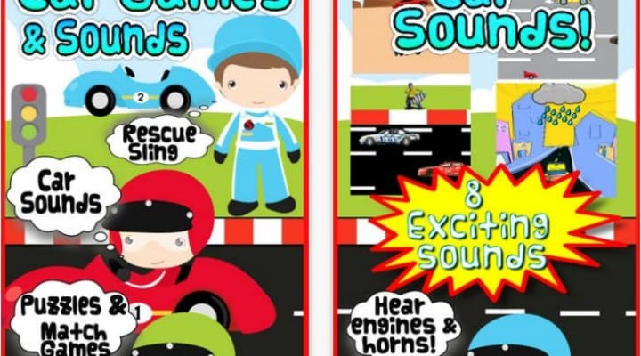 Car games for kids with Android and iOS apps