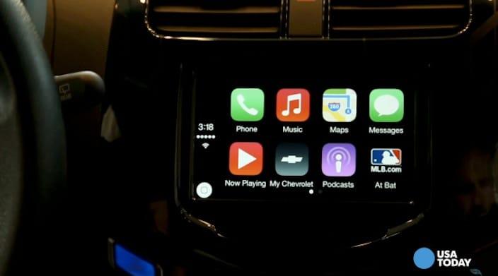 CarPlay MLB app