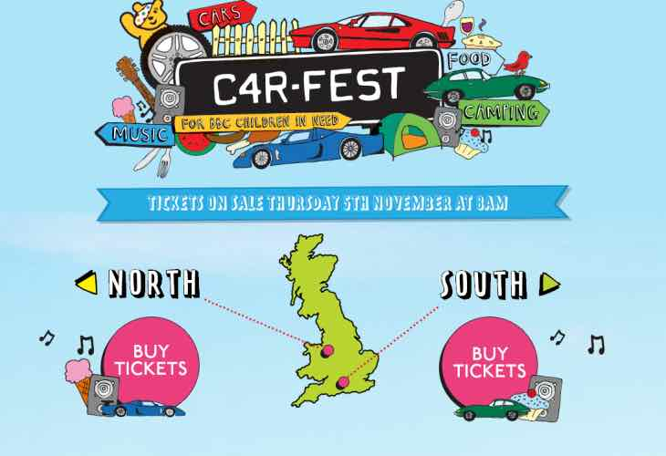 Carfest 2016 tickets for sale