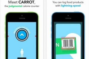Carrot Hunger app reacts like Katie Hopkins
