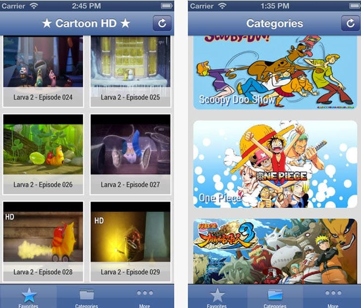 Cartoon HD app vanishes for iPhone, iPad | Product Reviews Net