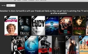 New Cartoon HD TV & Movie content, as Flixanity renamed