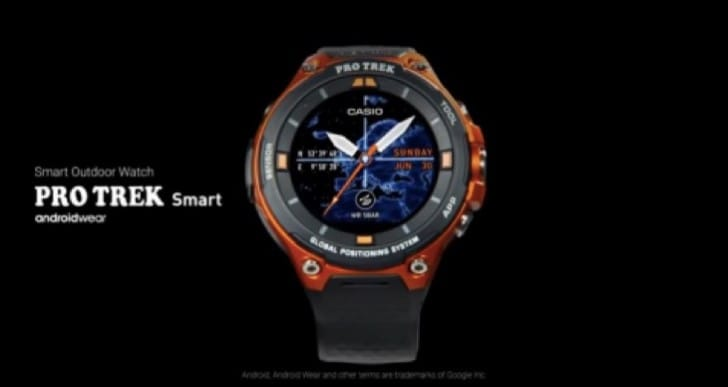 New Casio WSD-F20 revealed, battery life MIA