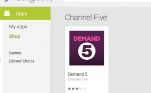 Channel 5 Big Brother Android app still MIA