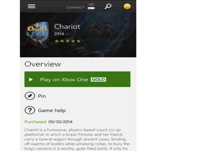 Chariot-xbox-one-live