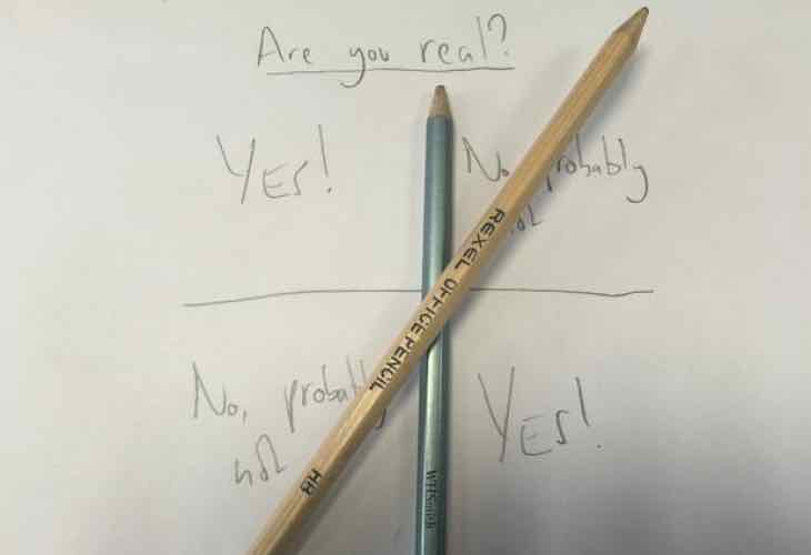 Charlie Charlie Challenge message