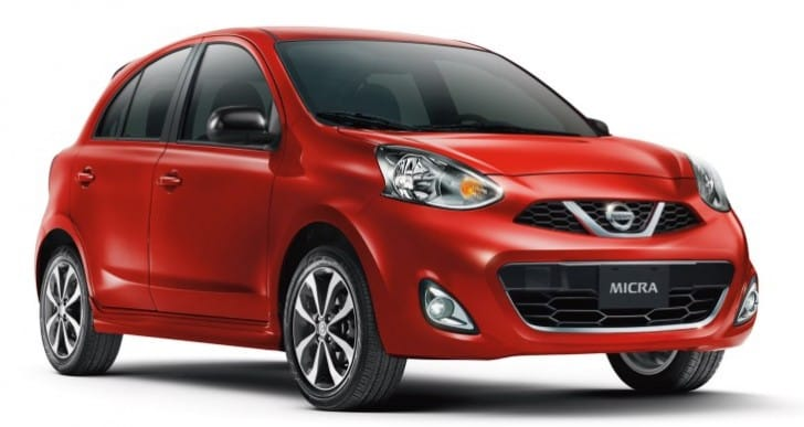 Cheapest car in Canada for 2014, the 2015 Nissan Micra