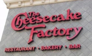Cheesecake Factory lacks iPhone, Android app