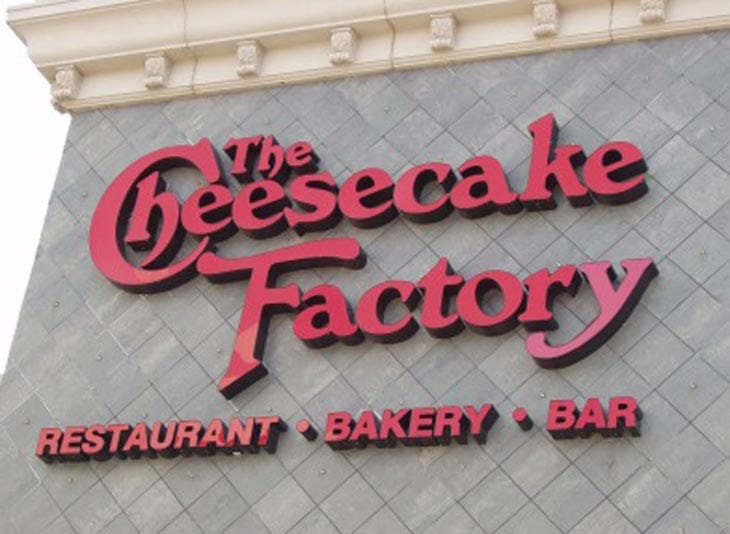 Cheesecake-Factory-app