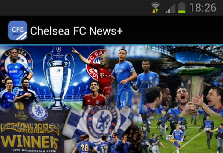 Chelsea FC news with new Android apps