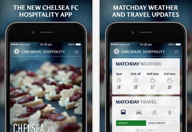 Chelsea improves live match day experience