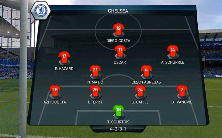Chelsea-lineup-aug-30