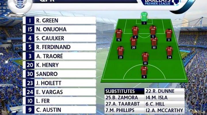 Chelsea vs QPR prediction in SIM with Fabregas decider
