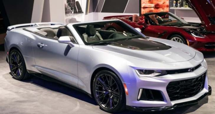Chevrolet Camaro UK price list and options