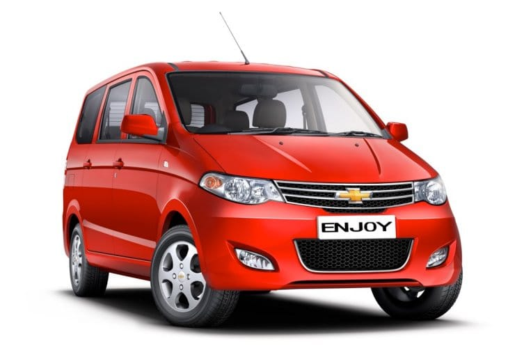 Chevrolet Enjoy vs. Maruti Ertiga – Value or trust for India