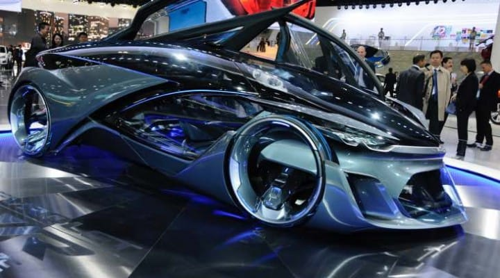 Chevrolet FNR purely conceptual, not pre-production prototype