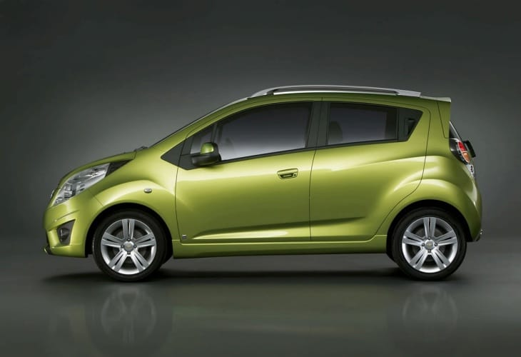 Chevrolet Spark clutch pedal recall for UK