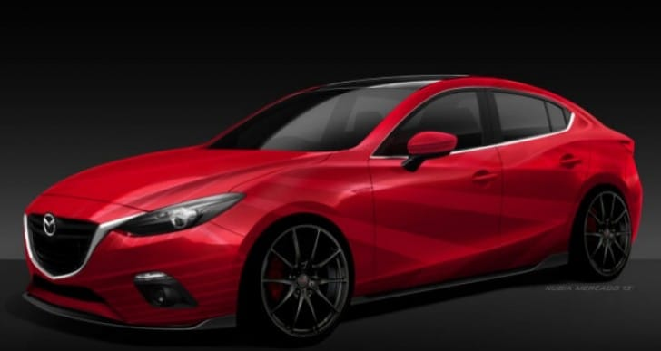 Chevrolet and Mazda SEMA 2013 concept car list
