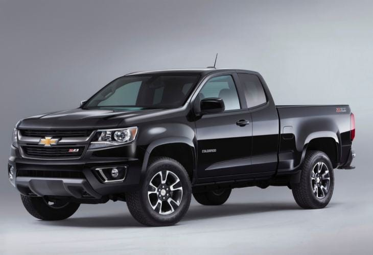Chevy Colorado 2015 price, specs, and MPG
