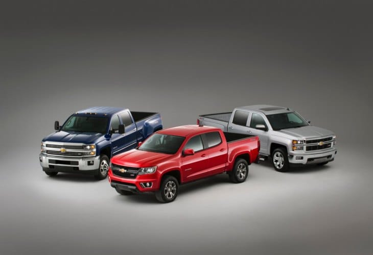 Chevy Colorado, GMC Canyon 2015 mpg