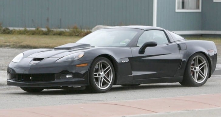 Chevy Corvette Z07 eye candy sparks speculative specs
